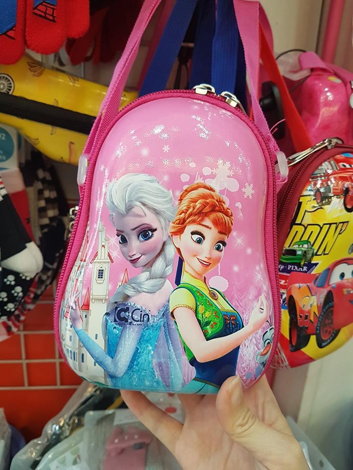 Túi đeo bé gái hình công chúa Elsa
