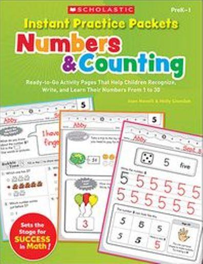 Scholastic - Instant Practice Packets Number & Counting PDF