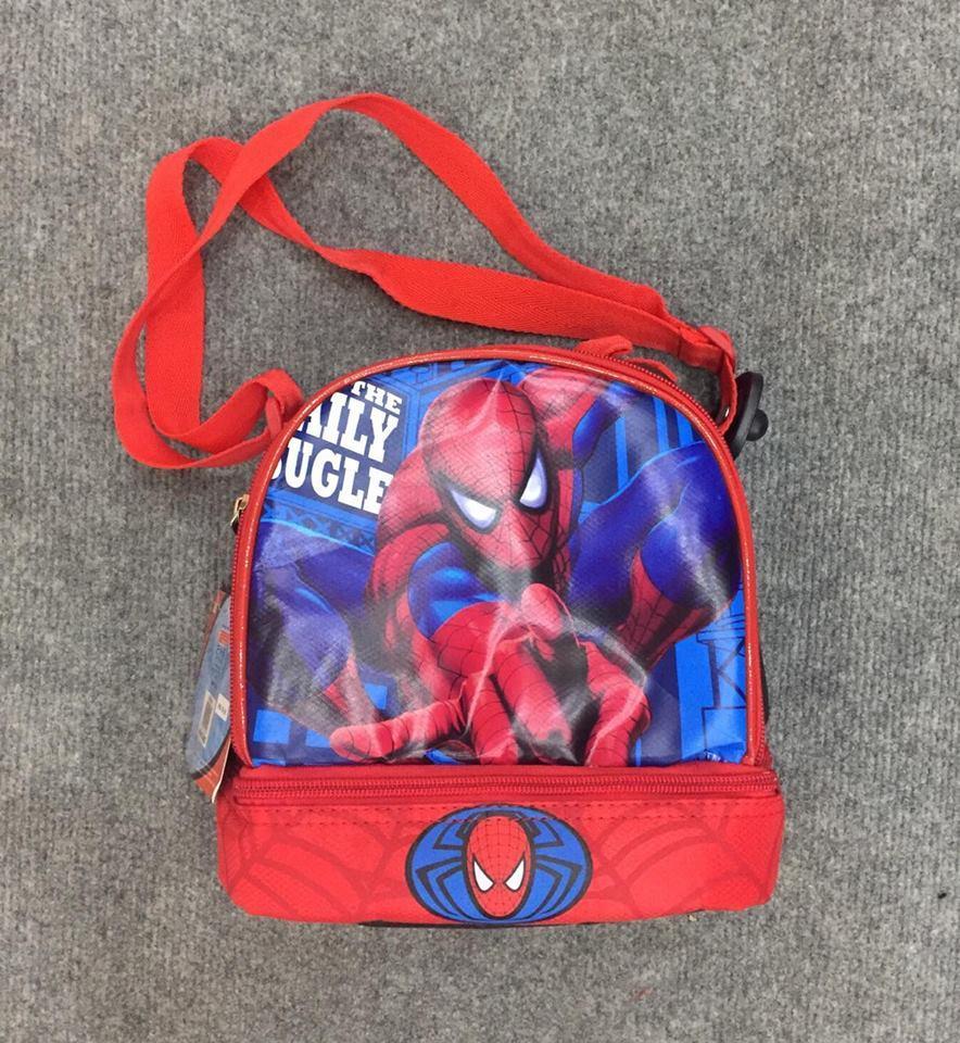 Túi đeo chéo người nhện spider men cho bé trai