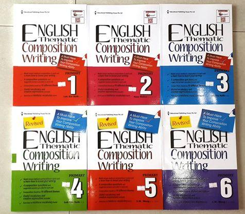 English Thematic Composition Writing sách của Singapore