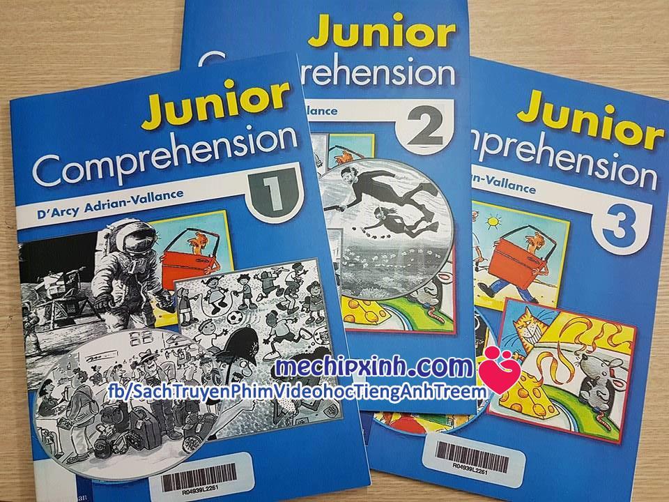 Junior Comprehension 1-2-3 - Longman đọc hiểu tiếng Anh trẻ em