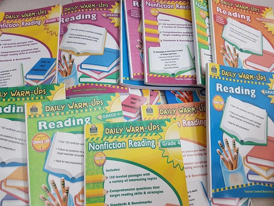 Bộ sách Daily Warm Up sách học tiếng Anh trẻ em