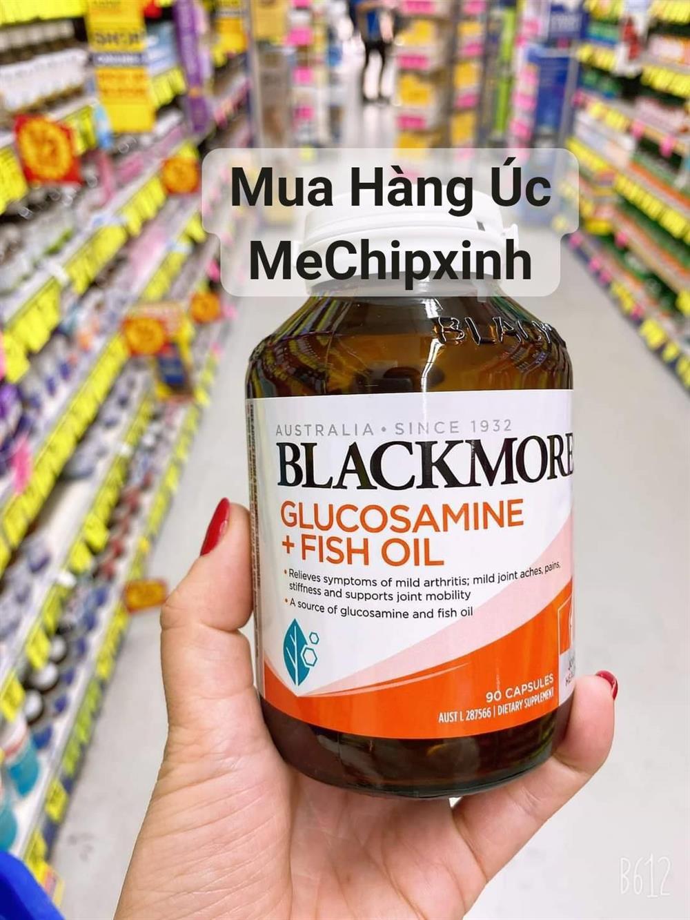 💥☘️ Viên uống kết hợp 2 trong 1 của Blackmores #Glucosamine + #Fish_Oil mẫu mới nhất 💯