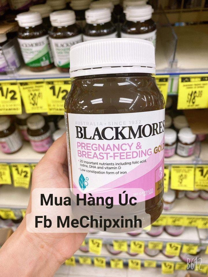 Vitamin bầu Blackmore Pregnancy & Breast Feeding Gold 60 viên - Thuốc bổ bà bầu