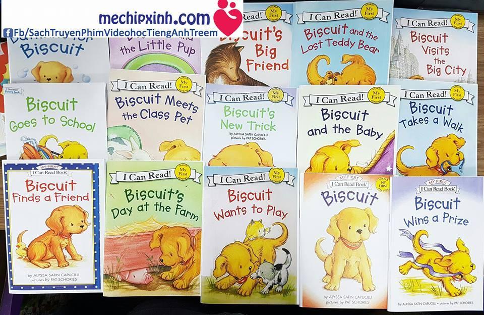 Biscuit I Can Read - Có Audio nghe Sách truyện tiếng Anh trẻ em mầu đẹp giá khuyến mại