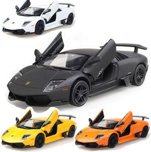 Mô hình ô tô Siêu xe 1:36 hợp kim Diecast kéo trở lại nhạc nhấp nháy mô hình mô phỏng mô phỏng điện đồ chơi trẻ em