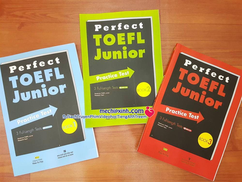 Toefl Junior bộ 17 quyển