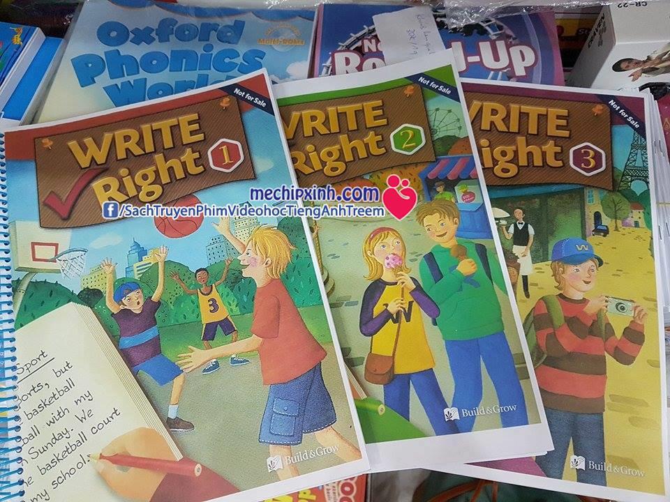 Write Right - sách học tiếng Anh trẻ em