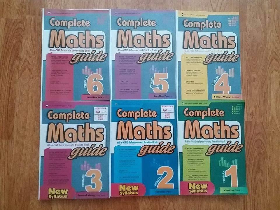 Complete MATHS guide - bộ sách toán tiểu học Singapore