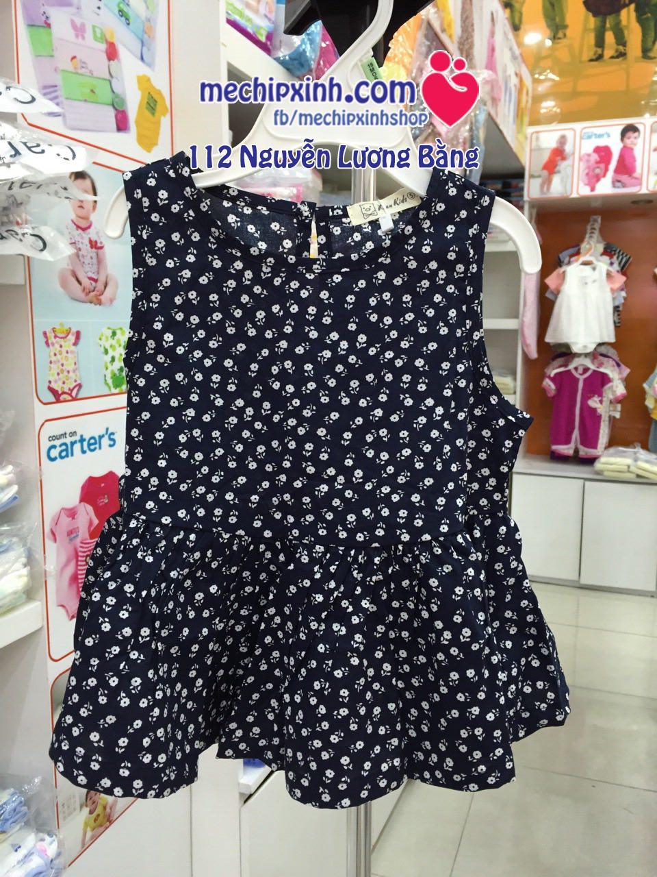 size 3 đến 24 tháng váy cotton hè thời trang bé gái xuất khẩu