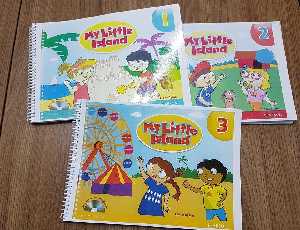 My little Island sách tiếng anh mầm non mẫu giáo cho bé đủ tập 1,2,3