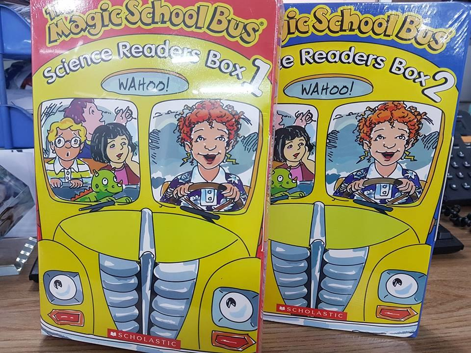 Magic School Bus truyện tiếng Anh trẻ em thiếu nhi có audio