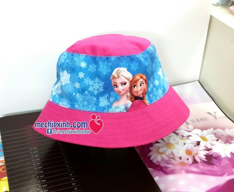 Mũ vành che nắng công chúa frozen công chúa elsa