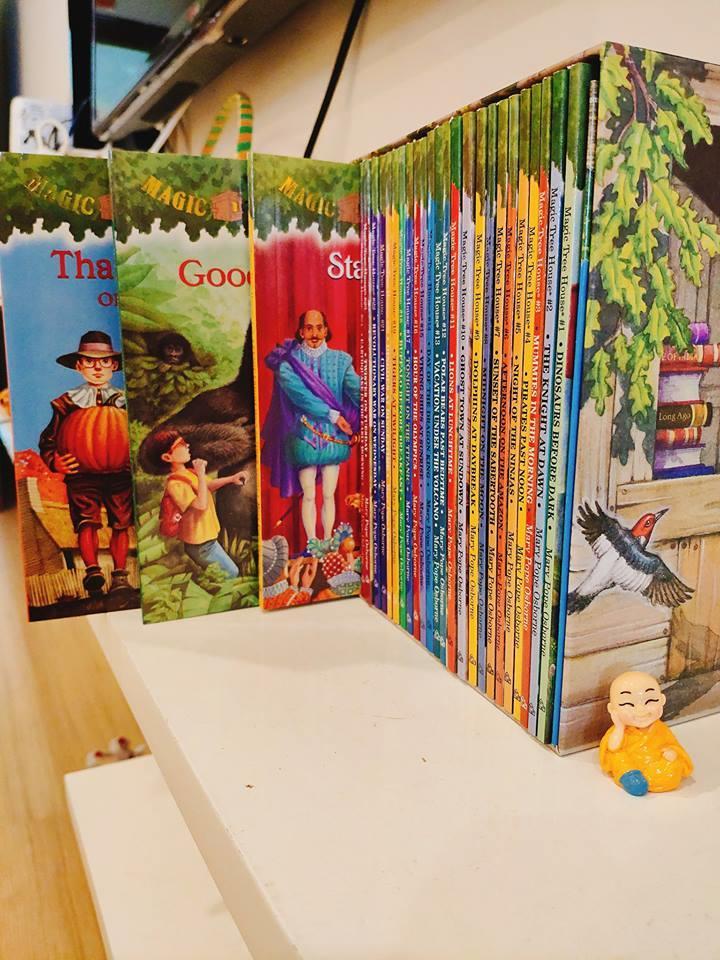 Magic Tree House truyện tiếng Anh nhập khẩu cho trẻ em thiếu nhi