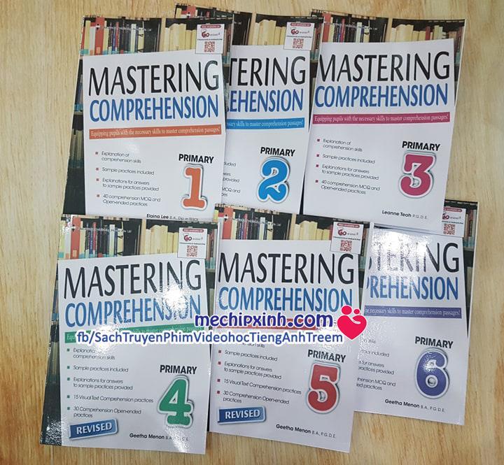 Mastering Comprehesion bộ đủ tập 1-2-3-4-5-6 sách tiếng Anh Singapore
