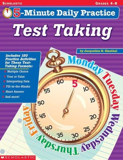 Scholasic 5-Minute Daily Practice (Grade 4-8)