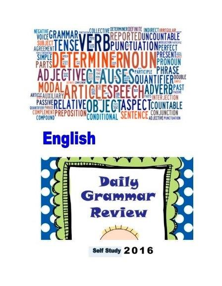 English Daily Grammar Review