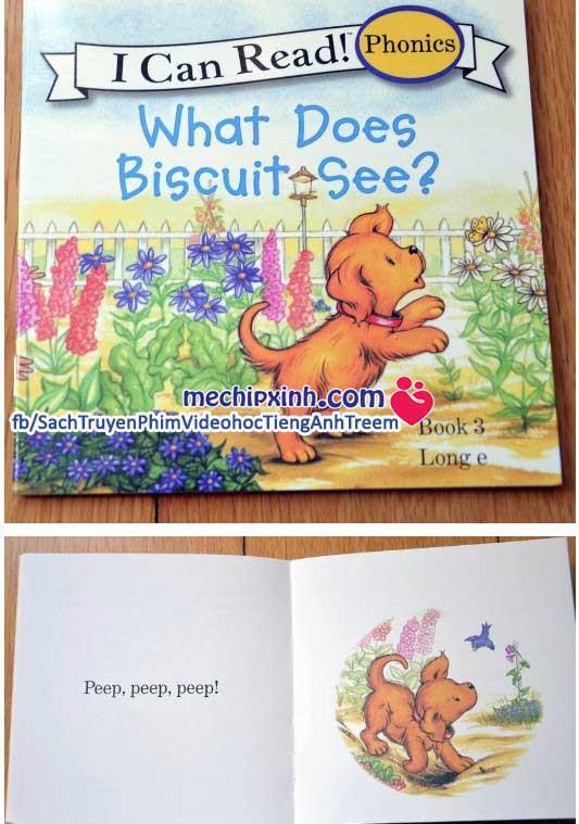 Biscuit I can read - Bộ truyện 24 quyển truyện nhỏ mini sách nhập khẩu tiếng anh cho trẻ mầm non mẫu giáo