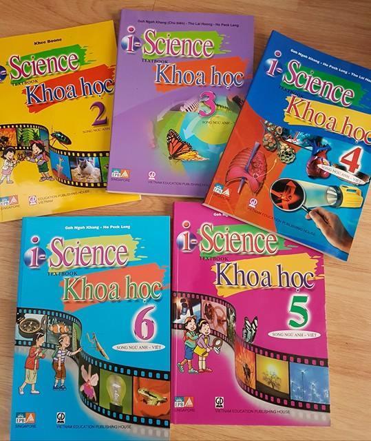 i-Science - Sách Khoa học song ngữ Anh - Việt của bộ giáo dục Việt - Singapore