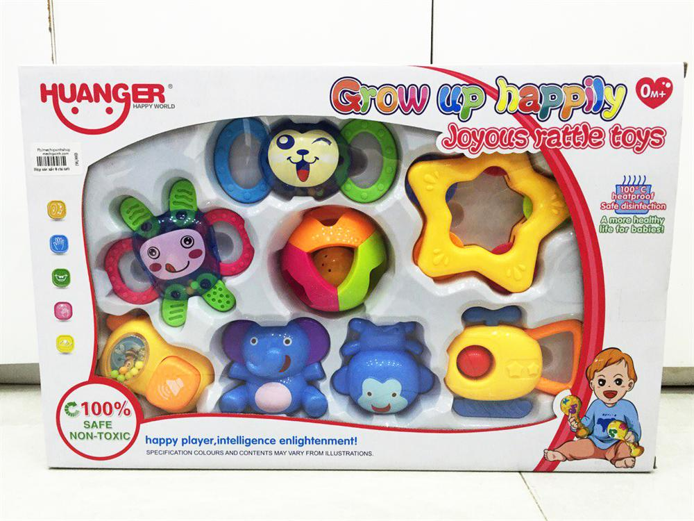 Bộ đồ chơi 8 xúc xắc cho bé