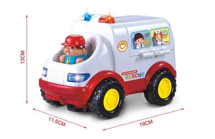 Đồ chơi xe cứu thương Huile toys
