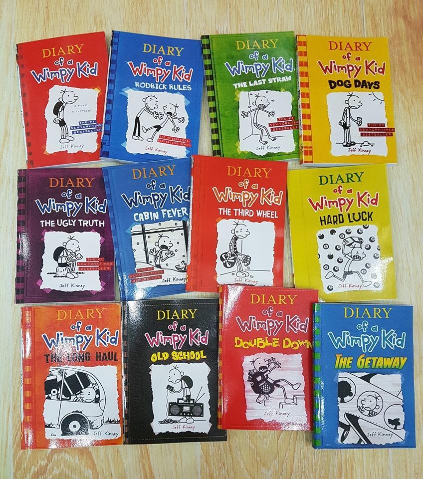 Diary of Wimpy Kid - Bộ truyện Nhật ký cậu bé nhút nhát bản tiếng Anh giá khuyến mại