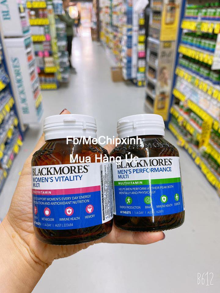 💥 Sale giá tốt 👉Bổ sung vitamin tổng hợp cho phụ nữ và nam giới của Blackmores