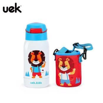 Bình nước giữ nhiệt hãng uek cho trẻ đi học đi chơi đi du lịch hình sư tử