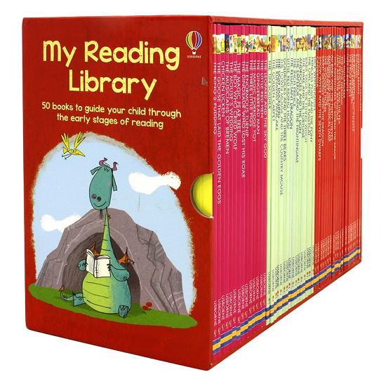 Usborne My Reading Library (Bộ Đỏ) 50 quyển truyện tiếng Anh