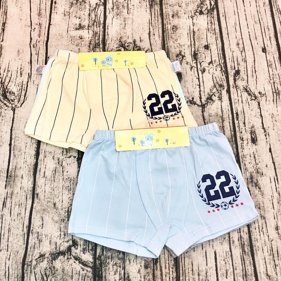 Set 2 quần sịp cho bé trai từ 5-10 tuổi