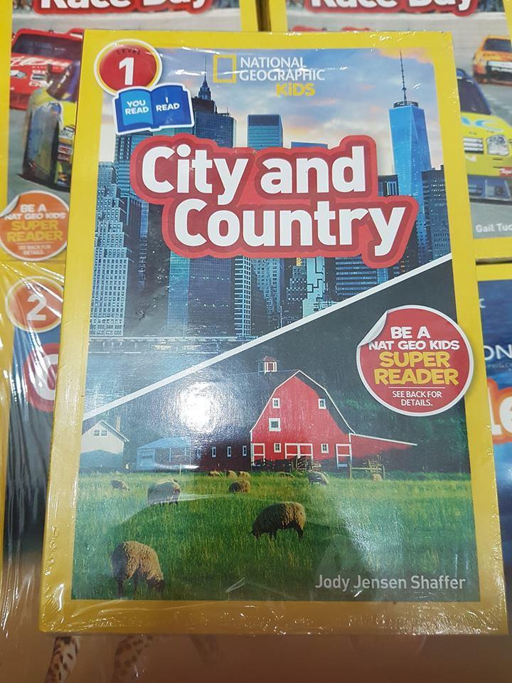 National Geographic level 1 sách khoa học tiếng anh trẻ em nhập khẩu