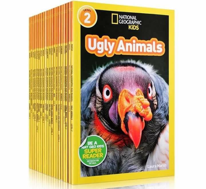 National Geographic level 2 sách khoa học tiếng anh trẻ em nhập khẩu