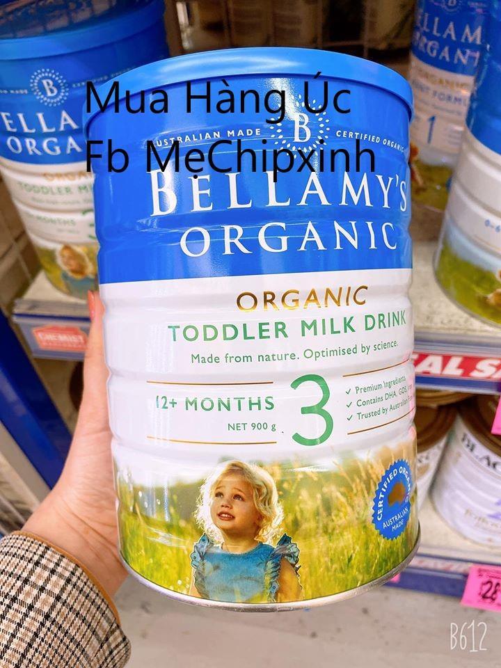 ✅ Sữa hữu cơ Bellamy Organic- Sữa sạch, thanh mát và không gây táo bón 🥰