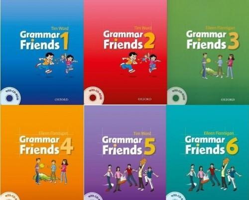 Oxford Grammar Friends Bộ giáo trình học ngữ pháp tiếng Anh trẻ em tiểu học ebook