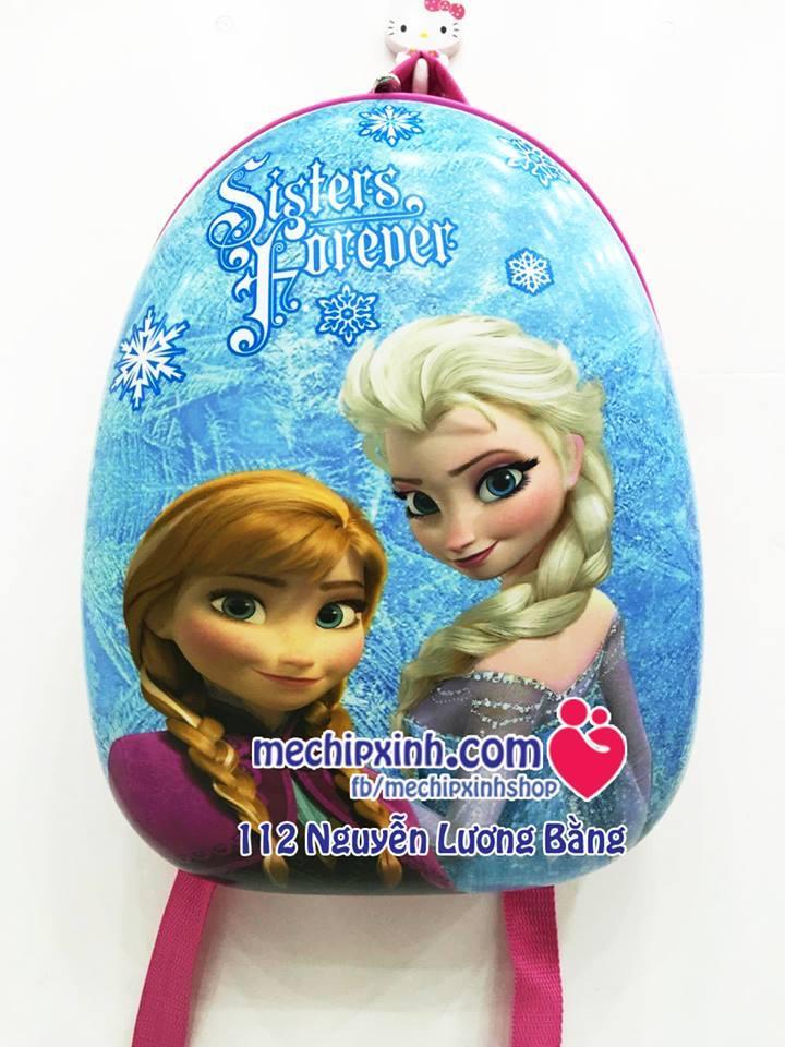 Ba lô trứng Frozen Anna Elsa