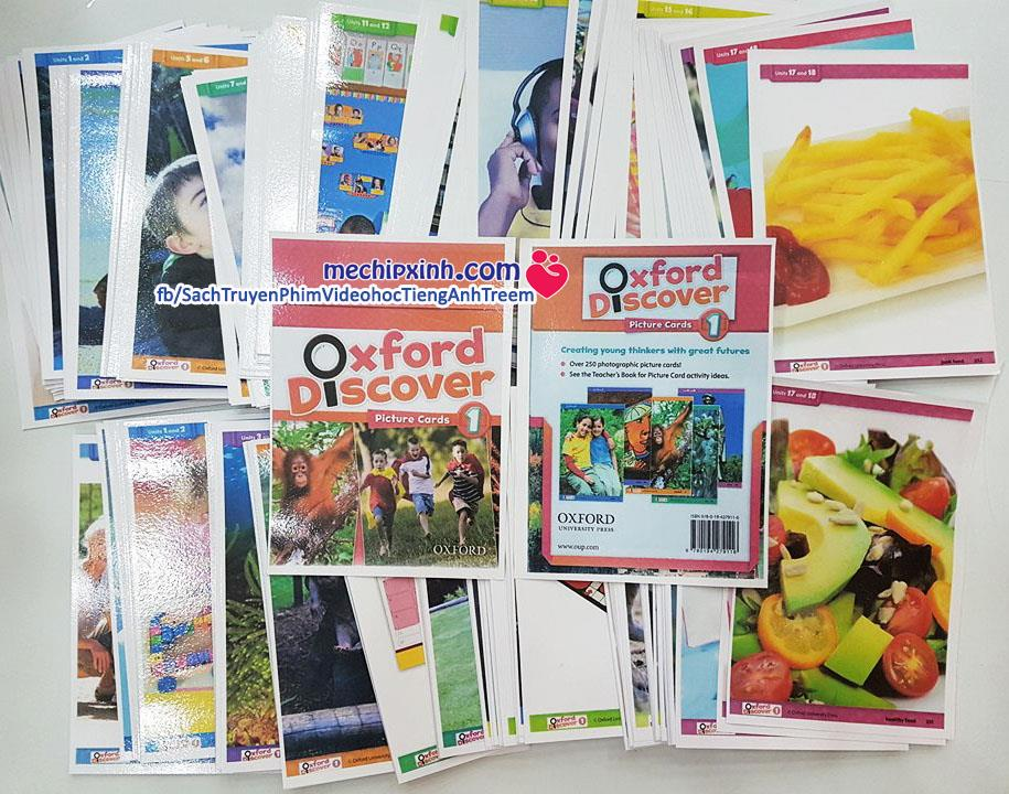 Oxford Discover Picture card level 1 khuyến mại