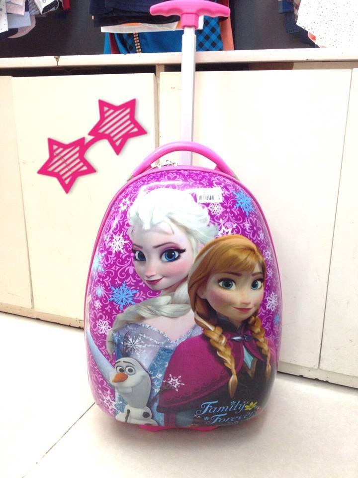 Vali trứng hình công chúa đi học đi du lịch hè