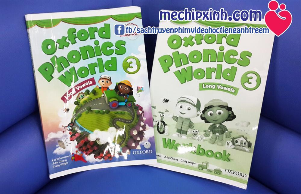 Sách Oxford Phonics World level 3 ( studenbook + workbook ) giá khuyến mại