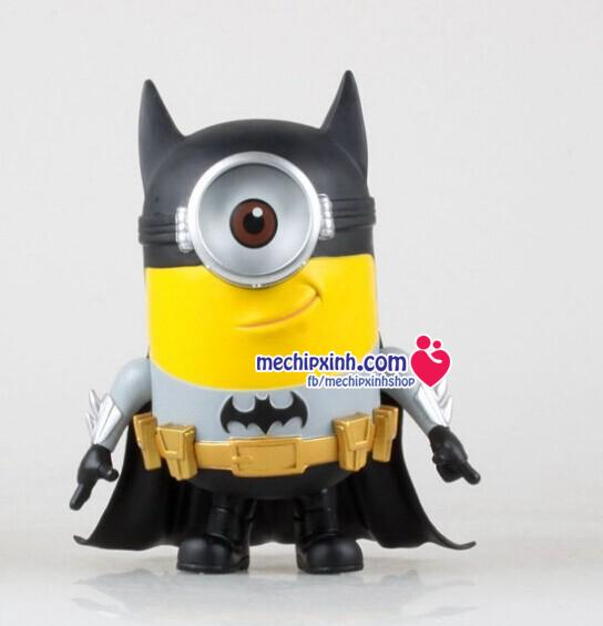 Minions batman người dơi đồ chơi nhựa an toàn cao khoảng 10cm