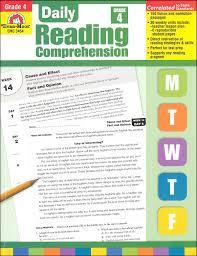 Daily Reading Comprehension - Evan Moor sách ebook PDF grade 4-5-6