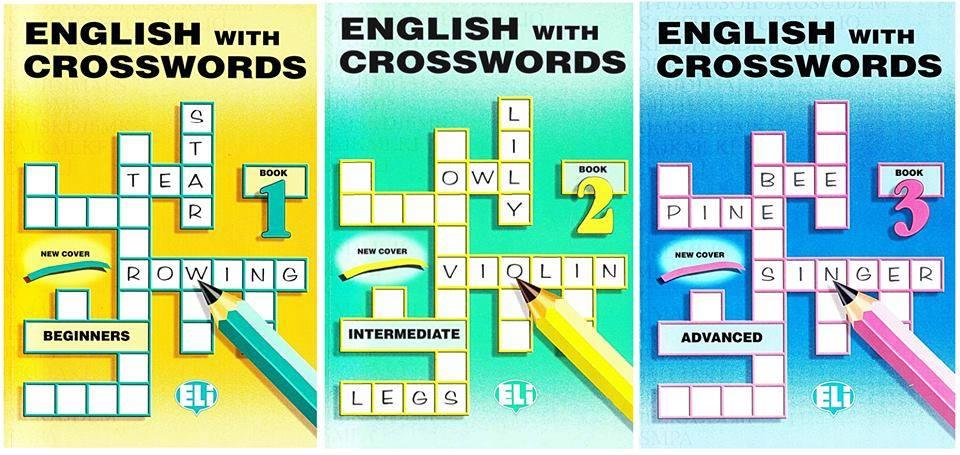 English with Crosswords 1- 2- 3
