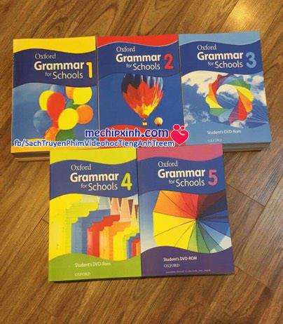 Sách giáo trình học Oxford Grammar for School tiếng Anh