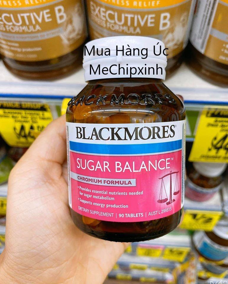 Viên uống Blackmores Sugar Balance trị bệnh tiểu đường hàng Úc