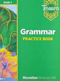 Treasures Grammar practice book- sách ebook PDF Grade 1 2 3 4 5 6