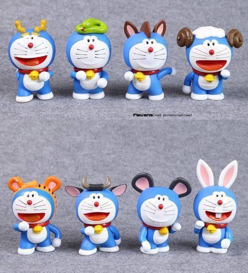 Doraemon 12 con giáp đồ chơi cao 10 cm