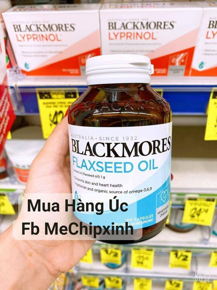 Tinh dầu hạt lanh Blackmores Flaxseed Oil