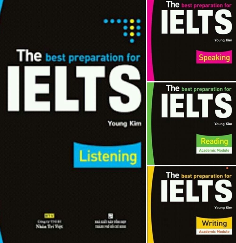 The best preparation for ielts listening reading speaking kim young