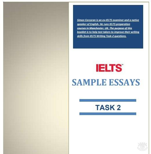 IETLS -  sample essays